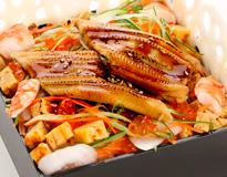 特上穴子野菜飯